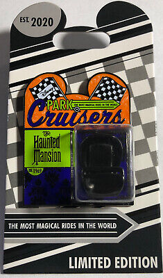 Disney Parks Haunted Mansion Park Cruisers Bi-Monthly Pin  Doombuggy LE 2000