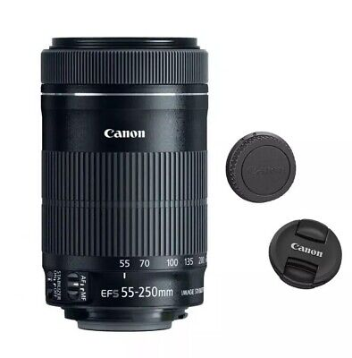 NEW Canon EF-S 55-250mm F/4-5.6 IS Telephoto Zoom Lens