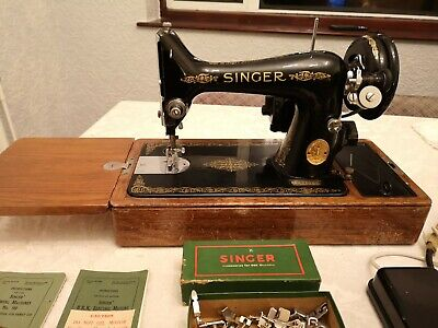 Singer 99k Electric Sewing machine Vintage Antique