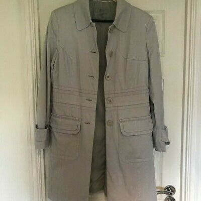 Pale Blue/grey  Marks and Spencer long jacket. Size 12