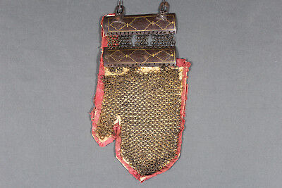 Persian or Indo-Persian handguard mail - 18th 19th century