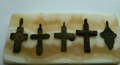 Many are ancient. broken crosses