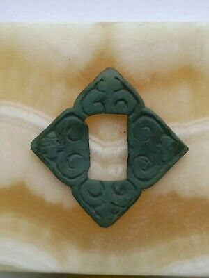 Ancient viking copper amulet pendant 10-12 centuries.