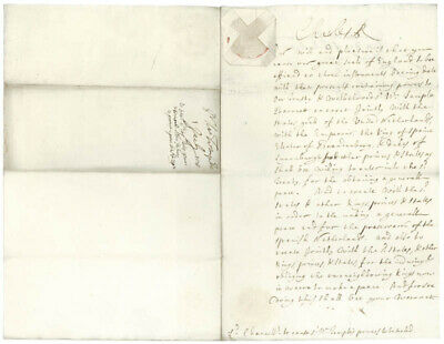 King Charles Ii (Great Britain) - Document Signed 07/01/1678