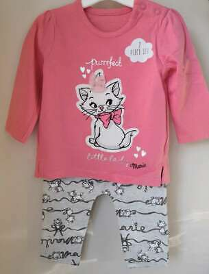 Disney Baby Girls The Aristocats Marie Top and Leggings NEW