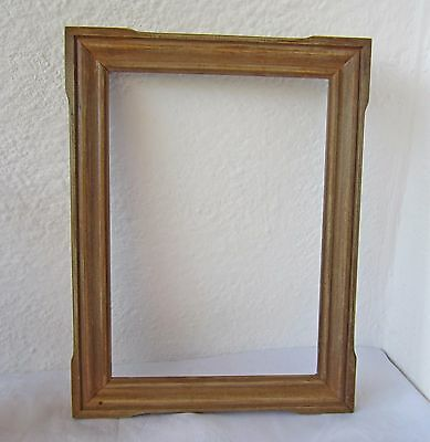 """appr 15x11""""  Hand  carved  wooden  WOOD  PICTURE  FRAME,  antique, carving"""