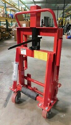 DAYTON 13V414  Machinery Mover Hand Truck, 4000 lb., Steel
