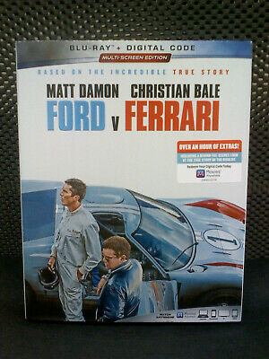 Ford V Ferrari Blu-Ray 2019 Like New