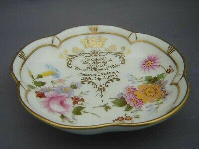 Royal Crown Derby Pin Tray - Wedding of Prince William and Catherine Middleton