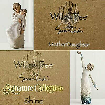 Willow Tree Mother Daughter Shine Figurine Signature Collection Designer Gift