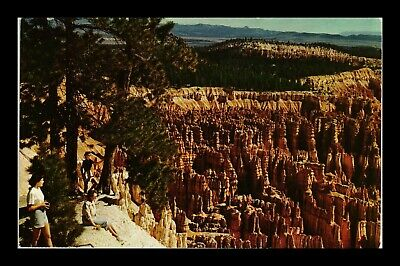 Dr Jim Stamps Us Bryce Canyon National Park Utah Chrome View Postcard