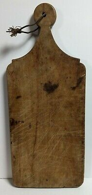 Antique Primitive Wooden Lollipop Handle Cutting Board (The Real Thing!)see pics