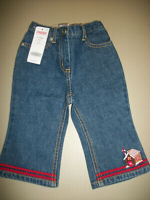 NWT Gymboree --Sugar N Spice-- Gingerbread House Jeans   Size--12-18m OR 18-24m