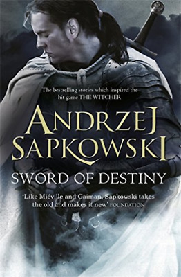 Sword Of Destiny BOOK NEW