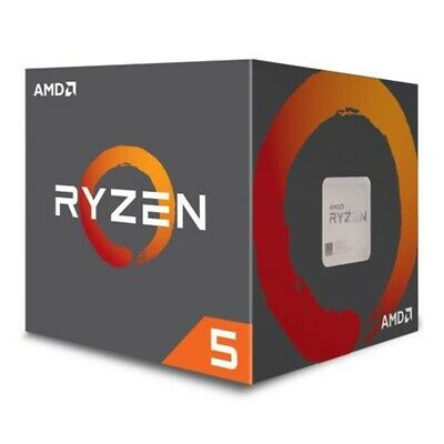 AMD Ryzen 5 1600 CPU with Wraith Cooler, AM4, 3.2GHz (3.6 Turbo), 6-Core,..