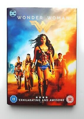 DC Wonder Woman DVD Video 2017
