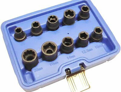 10pc Socket Specialist Automotive Set Fitted on Nissan Renallt Toyota Vauxhall