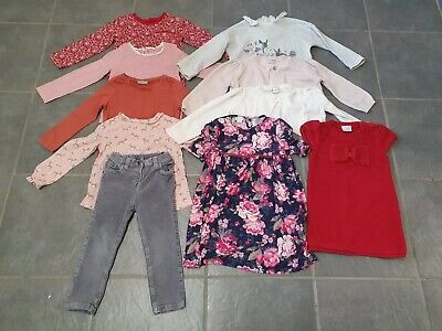 Bundle Girls Clothes Age 2-3 Years Tops Jumpers Dresses Etc Next Monsoon Boden