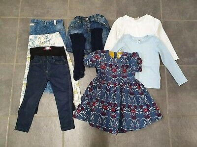Bundle Girls Clothes Age 2-3 Years Next Mamas And Papas Dress Skirt Jeans Etc
