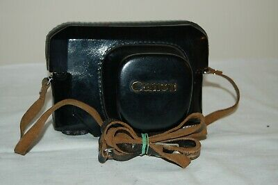 Canon-7 Vintage Rangefinder Ever Ready Case. Good Used Condition. #08. UK Sale