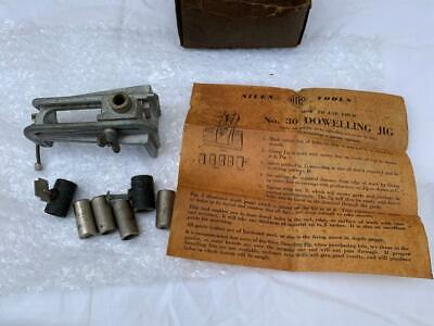 COLLECTABLE VINTAGE SILEX TOOLS No.30 DOWELLING JIG HAND TOOL AUSTRALIAN MADE