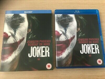 SEALED BLU RAY & SLIP COVER - Joker [2019] (Blu-ray) Joaquin Phoenix