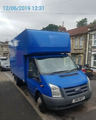Ford transit Luton T/Lift lwb New MOT