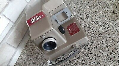 ALDIS 303 Slide Projector with Original Case, Working tested