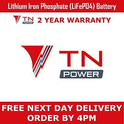 TN Power 12V 6Ah Lithium Leisure Battery for Golf & Mobility