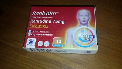 Ranitidine 75mg. Box of 12 tablets. Multi-buy discount available.