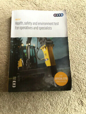 Health,safety And Environment Test For Operatives And Specialist CiTB. GT100/19