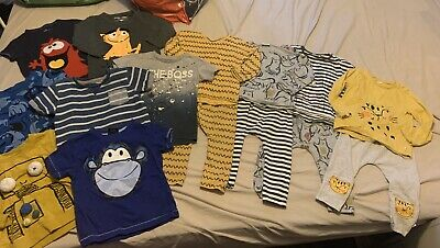 Large Baby Boys Clothes Bundle 100% NEXT Size 12-18 Months