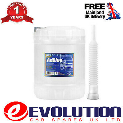 1 X Mannol German Adblue Car And Commercials Sct Def Bluedef 10 Litres Ad3001-10