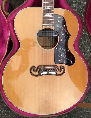 Gibson J200 Acoustic Guitar 1990