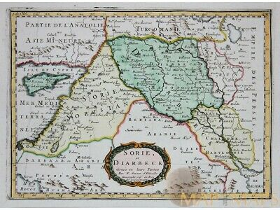 Sorie Et Diarbeck Old map ancient Near East Sanson 1656