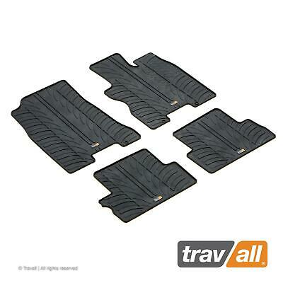 + Fixings Perfect Fit Black Carpet Car Mats Tailored for Nissan X-Trail 00-07