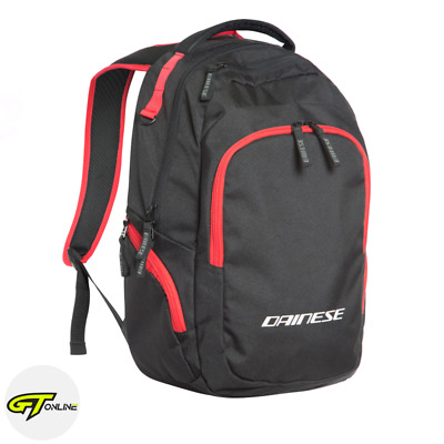 Dainese D-Quad Motorcycle Backpack Rucksack Bag | Black / Red | 1980074606