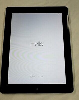 """Apple iPad 2 16GB Wi-Fi 9.7"""" Tablet - Black - Excellent Condition!"""