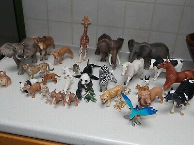 Schleich Wild And Farm Animals.lot To Choose From.one Postage