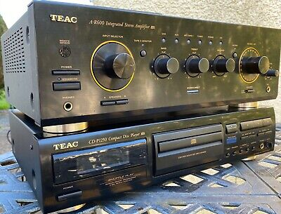 Teac A-R600 integrated amp +  CD-P1250 CD player + remote SUPERB