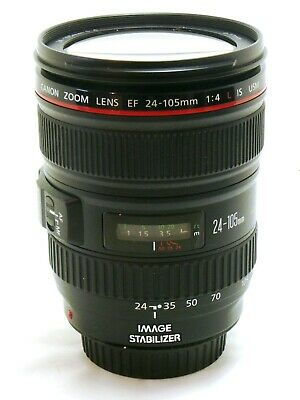 Canon 24-105mm f/4 L IS USM zoom lens EF mount for EOS MINT #36109