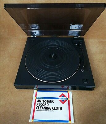 Vintage JVC AL-E21 BK Auto Return Turntable System Record Player - Tested