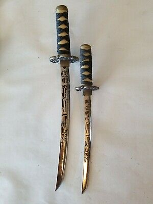 """Miniature Katana Letter Opener /""""Jintachi with vertical stand/""""  #110 #120"""