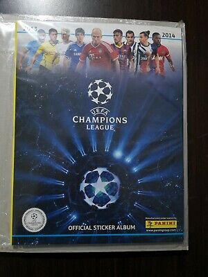 PANINI CHAMPIONS LEAGUE 2012//2013 album vuoto album CL 12//13