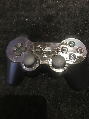 Genuine Official Black PS3 DualShock 3 SIXAXIS Modern Warfare Controller Black