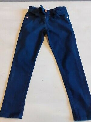 Girls Navy Jeans Age 5-6 Marks And Spencer Never Worn