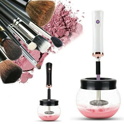 Electric Make up Brush Cleaner Dryer Set Machine Cosmetic Auto Clean Quick Dry W