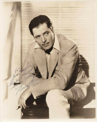 Warner Baxter - Inscribed Photograph Signed 1941