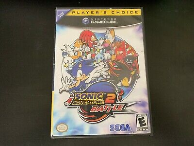 Sonic Adventure 2 Battle (GameCube, 2002), Black Label Disc and Case Tested