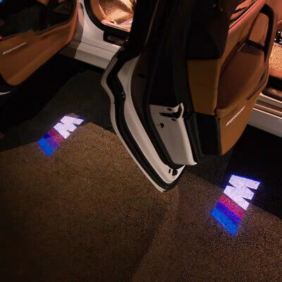 Logo LED Step Door Courtesy Welcome Light Ghost Shadow Laser Projectot For BMW M